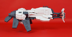 Belial Side (Cuahchic) Tags: lego space bricks alien engine technic snot eveonline coolingfins foitsop
