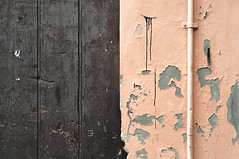 FE #10 (MaraFemia) Tags: street city pink urban italy texture wall architecture atmosphere plaster ferrara ruined