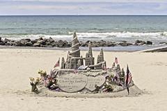 Memorial Sand Castle (Gamma Infinity) Tags: hoteldelcoronado coronadobeach sandcastleman