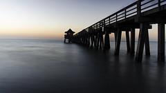 By the Pier DSL7065 (iloleo) Tags: longexposure sunset gulfofmexico pier timelapse florida shoreline scenic structure hss naplespier watewr nikond7000
