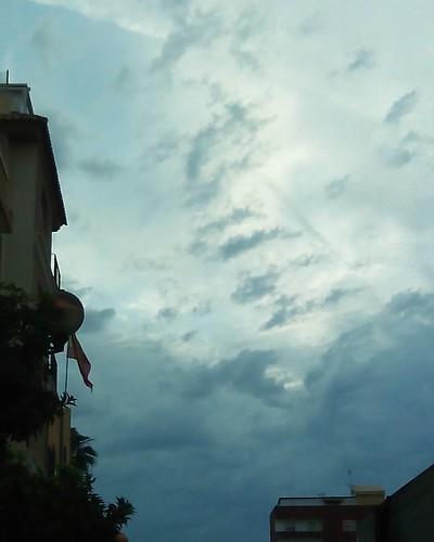La mañana se presenta más nublada hoy... Buenos días!