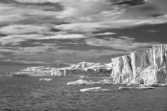 Svalbard (Mark Zukowski) Tags: sea sky blackandwhite snow ice norway ngc glacier svalbard archipelago lindbladexpeditions nationalgeographicexplorer