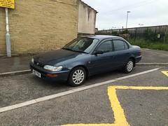 Toyota Corolla 1.3 GLi (VAGDave) Tags: toyota gli 1994 13 corolla