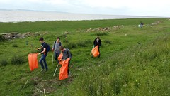 20160624_104058 (Keep Wales Tidy) Tags: bridge summer up coast marine severn clean litter learning monmouth welsh care baccalaureate caldicot rogiet welshcoastalpathcleanup