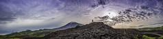 Amanecer tu gloria. (Carlos A. Barrientos) Tags: travel friends light sky sun color nature clouds sunrise volcano landscapes nikon guatemala visiting dios pacaya naturelight naturelandscape naturepics visitguatemala diosmiartistafavorito
