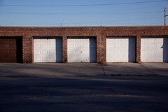 Garages in Sunnyside, Queens (ChrisGoldNY) Tags: city nyc newyorkcity urban usa newyork streets architecture america doors forsale squares queens repetition posters gothamist sunnyside sidewalks bookcovers albumcovers garages qns chrisgoldny chrisgoldberg chrisgold chrisgoldphoto chrisgoldphotos