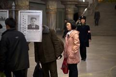Kim Jong-un Pyongyang Subway (Joseph A Ferris III) Tags: news subway metro northkorea pyongyang dprk juche pyongyangmetro kimjongun
