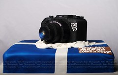 My 23rd Birthday #2 (Fajer Alajmi) Tags: birthday camera blue white cake canon cam