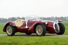 1972 Kougar Jaguar 4.2 Litre (ClassicarGarage / Marc Vorgers) Tags: red rot classic dark burgundy sony bordeaux sigma marc service jaguar 1972 rood 42 slt dunkel litre donker a77 xj altena 70200f28 a55 kougar vorgers classicargarage sal1650ssm
