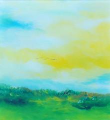 Gallery Gonski, I feel Summer (GALLERY GONSKI) Tags: art glass painting gallery mimi oil gonski