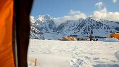 Waking up (Lee Petersen) Tags: snow mountains ice alaska ak peak glacier fieldwork range mcginnis blackrapids