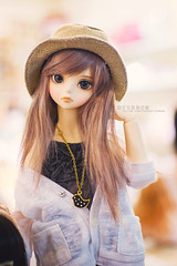 Aizome (TURBOW) Tags: girl asian kid doll bjd resin luts delf ani aizome msd bluefairy minisuperdollfie balljointeddoll kdf applebin nine9style mistybrown mistyroseskin edmilky35 tinyfairybody littleleekeworldwig