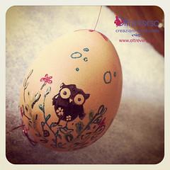 Easter Egg Embossing (OltreversoLab) Tags: scrapbooking embossingpowder uovadipasqua uovapasquali hotgun pasquaeaster easterideas italianeastereggs lavorettopasqua decorazionipasqua pasquaricette