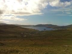 Overlooking Castlebay, Barra
