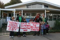 Koroit Kindergarten, Victoria, Australia (endoftheicons) Tags: sumatra orangutan deforestation palmoil tripa internationaldayofaction