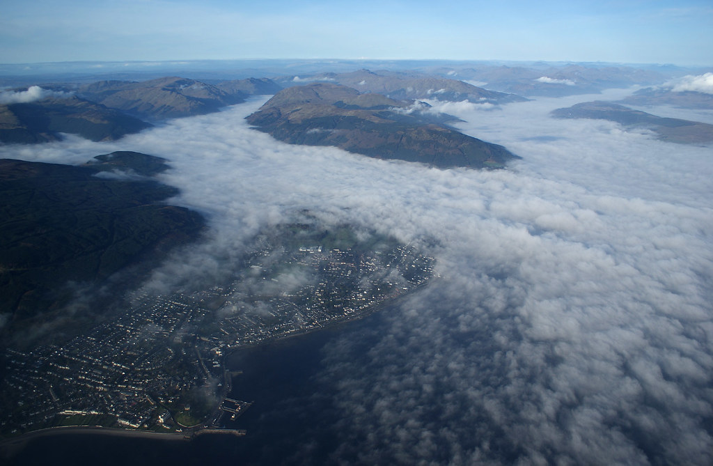Dunoon, Holy Loch and Loch Long