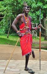 Masai pose II (Hctor del Hoyo) Tags: africa kenya culture traditions tribal safari mara tribes tribe ethnic kenia masai cultura ethnology tribu tradiciones etnia tribus ethnie hectordelhoyo