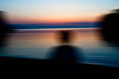 radio waves (Vasilis Amir) Tags: longexposure sunset sea portrait sunlight abstract motion beach water silhouette sunrise landscape moving experimental move transparency transparent icm slowspeed ixtlan  abstractportrait intentionalcameramovement mygearandme vasilisamir