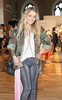 Mia Oliver pictured at the ebay.ie fashion show at Smock Alley Theatre, part of the ebay.ie online fashion week. Photo: Anthony Woods.