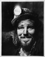1960's Coal Miner. (sidibousaid60) Tags: portrait blackandwhite bw blancoynegro work 1960s miner coalminer