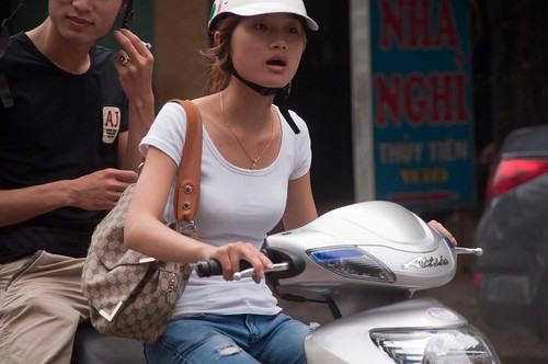 Hanoi Motorbike Honey
