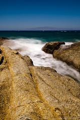 naxos - rocks and waves le 2 (Harald Hafner) Tags: longexposure sea rocks meer waves naxos felsen wellen langzeibelichtung aliko d300s