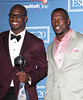 Vernon Davis, Patrick Willis 2012 ESPY Awards - Press Room at the Nokia Theatre L.A. Live Los Angeles, California