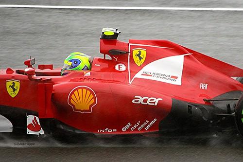 Felipe Massa at Silverstone