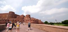 2010.7.18~28 Travel India & HongKong (Agra Agra Fort)