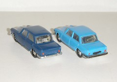 Micro Norev Simca 1500 (gueguette80 ... Définitivement non voyant) Tags: old blue cars french miniatures miniature micro autos ho 187 1500 bleue simca echelle diecast jouets anciennes norev