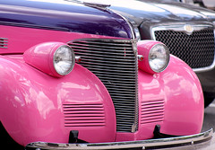 Pretty In Pink... and Purple (sgribbin) Tags: pink car canon purple antique t3 roadster thevillages flickraward mygearandme
