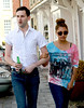 Vanessa White Celebrities leaving their hotel after attending the wedding of Rochelle Wiseman and Marvin Humes which took place on Friday (July 27) at Blenheim Palace England