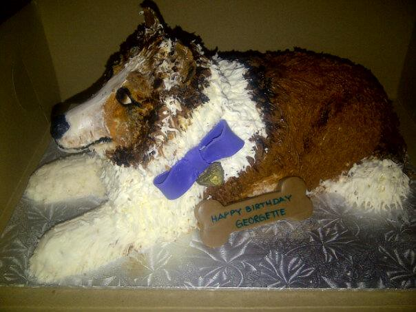 3D Collie Cake (House Of Cake Sarnia) Tags: birthday dog cake puppy 3d ...