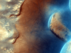 Dust Devil Lines in Dust Devil Lines in the Sand (NASA, Mars, 2009)Sand (NASA, Mars, 2009) (NASA's Marshall Space Flight Center) Tags: mars rover nasa exploration mro msl dustdevils marslanding marssciencelaboratory curiosityrover marshighresolutionimagingscienceexperiment activedunegully