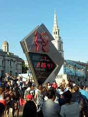 One Day To Go (adacar) Tags: square olympic olympics countdown london2012 clocktrafalgar