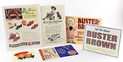 7. Collection of Buster Brown Advertisements