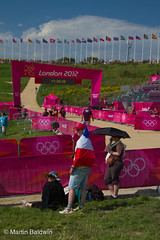 Getting a good spot (MartinBaldwin) Tags: uk greatbritain summer england sport cycling europe seasons offroad unitedkingdom events year eu crosscountry gb olympic xc olympics mountainbiking essex velo locations 2012 olympicgames london2012 ioc locog london2012games cyclosport hadleighfarm internationalolympiccommitee flickrnova 30tholympiad londonorganisingcommitteeoftheolympicandparalympicgames