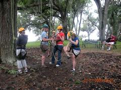 Preparing for the Climb! (boktower) Tags: oak florida oaktree treeclimbing lakewales boktowergardens familytreeclimbing