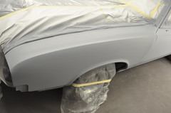 "1970 Cutlass SX Coupe Restoration in primer • <a style=""font-size:0.8em;"" href=""http://www.flickr.com/photos/85572005@N00/8151122886/"" target=""_blank"">View on Flickr</a>"