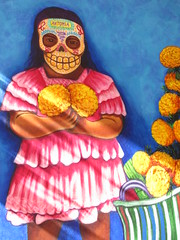Day of the Dead (shaire productions) Tags: california art festival dayofthedead skulls skeleton skull oakland image artistic decorative picture culture pic event gathering diadelosmuertos decor skeletal cultural imagery