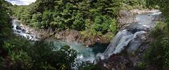 tawhai falls pano 1 (Bilderschreiber) Tags: park newzealand panorama water waterfall nationalpark wasserfall falls national northisland tongariro neuseeland flle tawhaifalls tawhai nordinsel