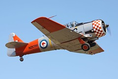Harvard take-off (joolsgriff) Tags: harvard australia airshow texan t6 snj northamerican tyabb vhnah gearinmotion nz1056