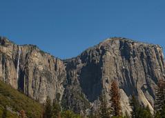 El Capitan and Falls (Garden State Hiker) Tags: california mountains nature landscape outdoors nationalpark day sunny clear yosemite yosemitenationalpark elcapitan monolith