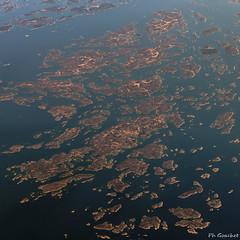 Aland Archipel (Philippe Goachet) Tags: sea mer finland island inflight sony flight baltic aland archipel vuedavion vuearienne sueden rx100