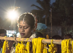 Bride in Spotlight |  Koovagam Annual Transgender Festival,India (vjisin) Tags: travel portrait people woman india man heritage face festival temple 50mm nikon asia diverse ngc culture documentary crossdressing transgender identity transexual queer gender tamilnadu genderqueer shemale hijra androgyne heterosexuality documentaryphotography transsexualism villupuram niftyfifty twospirit intersexuality koovagam bigender koothandavar ulundurpet thirunangai aravaan chennaiweekendclickers trigender nikonofficial cwc523