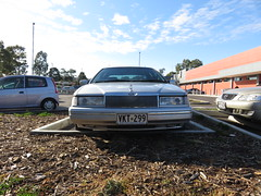1990s Ford DC LTD (RS 1990) Tags: ford car june sedan dc adelaide southaustralia ltd luxury 1990s 2016 modbury teatreegully teatreeplaza