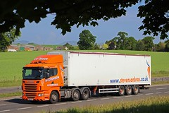 SCANIA R440 - STEVENSON Avonbridge (scotrailm 63A) Tags: stevenson trucks lorries