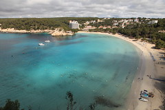 Cala Galdana. (Steve Dawson.) Tags: sea holiday beach canon eos spain sand may espana 5d usm 8th ef2470mmf28lusm menorca mkii minorca balearicislands 2016 calagaldana islasbaleares f28l ef2470mm canoneos5dmarkii