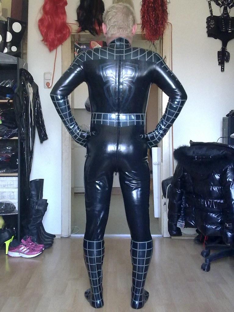Big black penis and cat suit | XXX images)