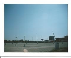 (iralh) Tags: urban chicago landscape polaroid photography fuji wideangle landcamera instantphotography fp100c kaligar uebanlandscape